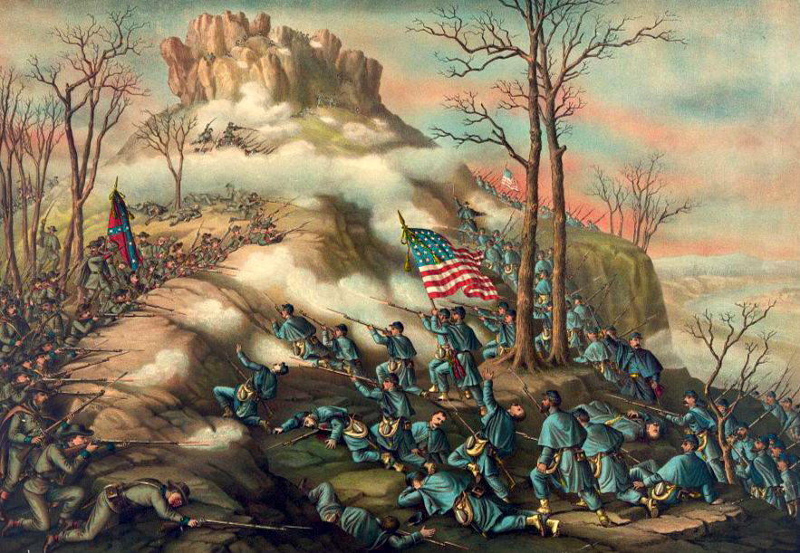 Battle-of-Lookout-Mountain-by-Kurz-and-Allison