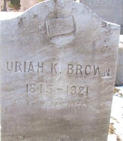 brown headstone