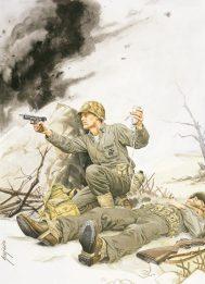 bush in combat
